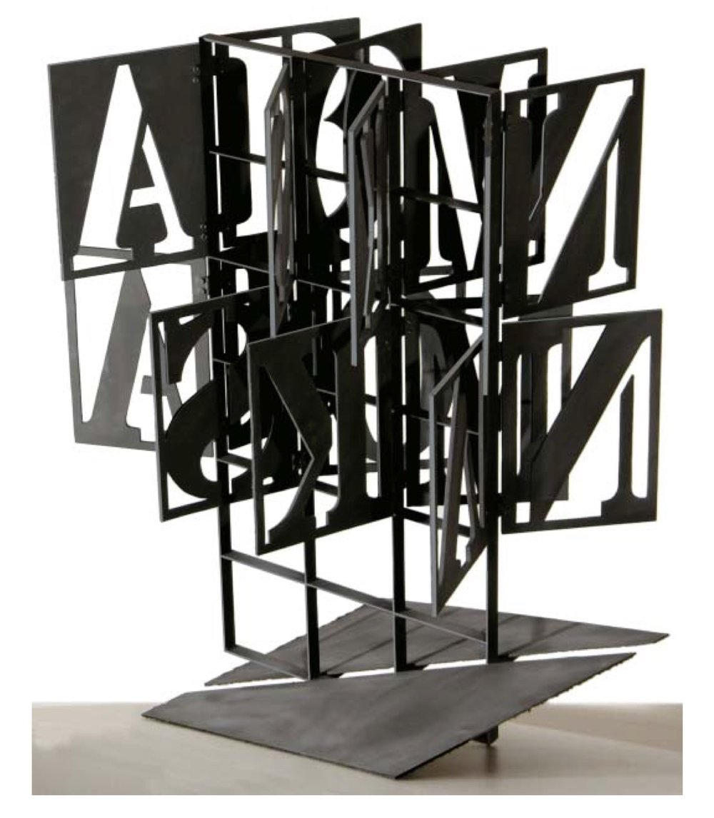 "Alexey Klimov    Beacon Exlibris  , Metal, plastic, automotive paint, 36"" x 30"", 2008"