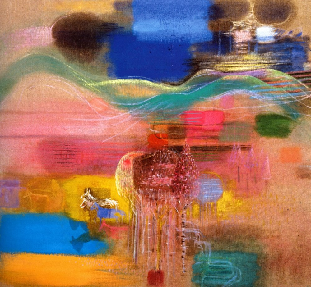 "Mark Kurdziel    Landscape #1-2004,   Oil on canvas, 40"" x 46"", 2004"