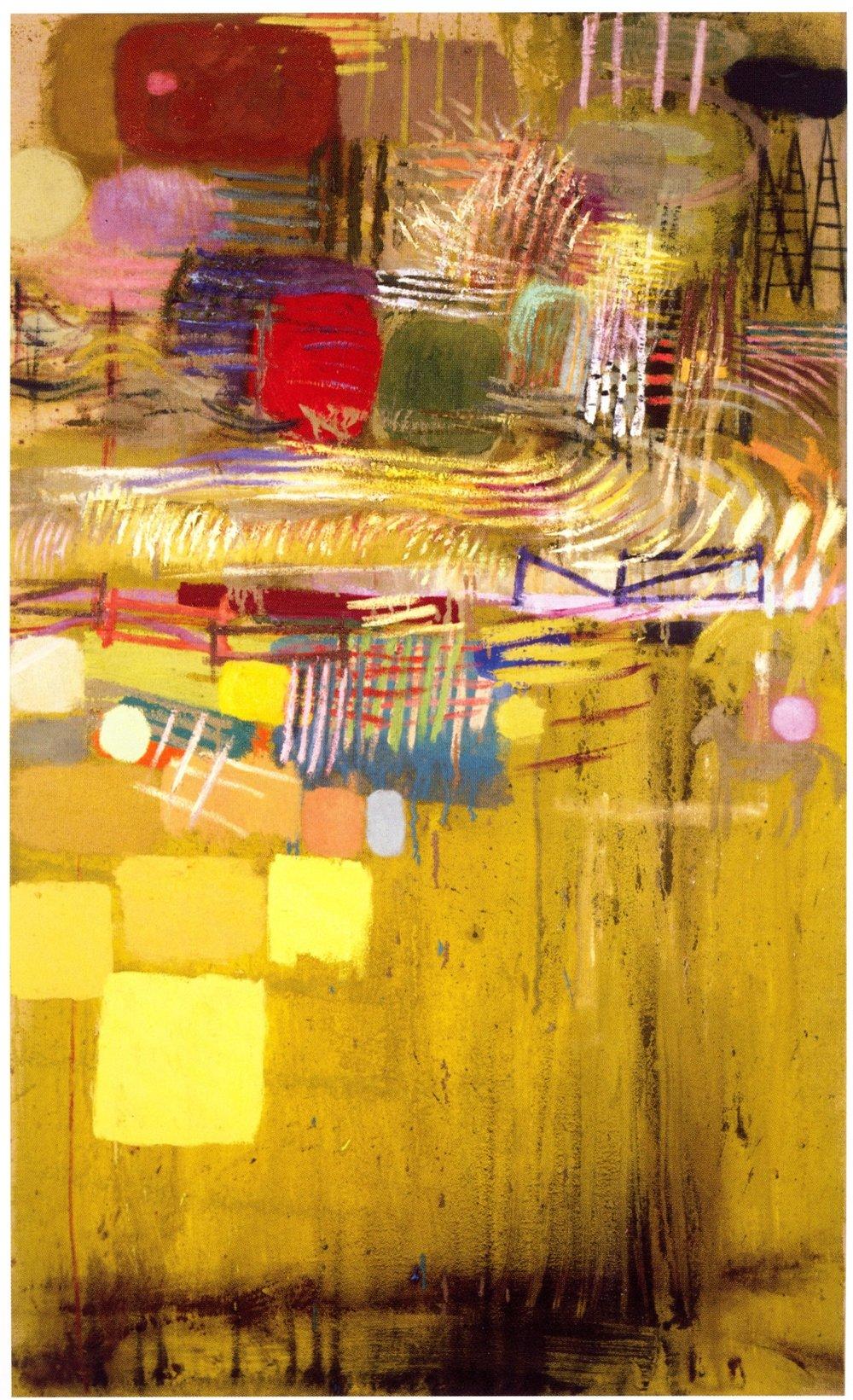 "Mark Kurdziel    Last Exit,   Oil on canvas, 40"" x 66"", 2004"