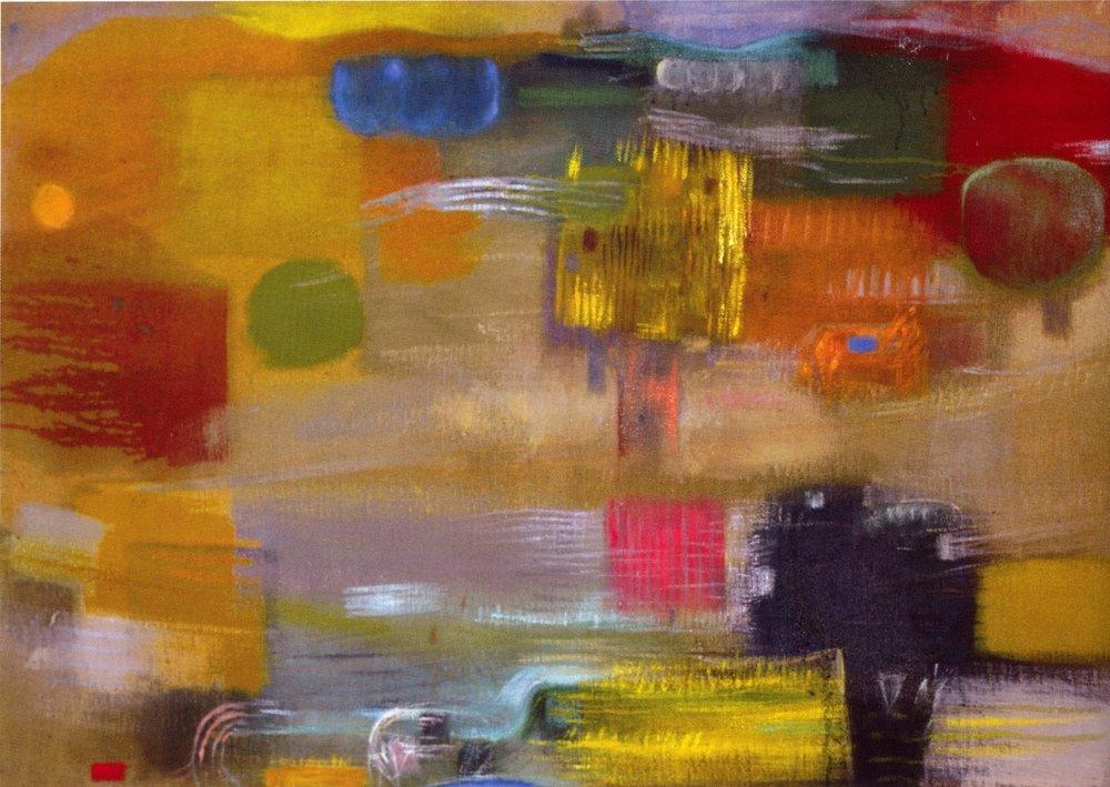 "Mark Kurdziel    Landscape #3 -2004,   Oil on canvas, 36"" x 52"", 2004"