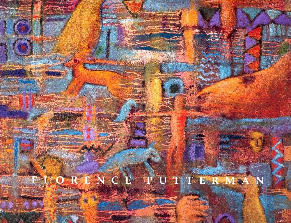 Cover:   Spirits & Essences   Acrylic, sand on canvas, 52'' x 52'', 2004