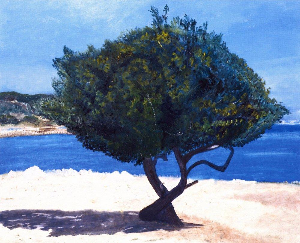Au Matin   Oil on canvas, 42'' x 48'', 2003
