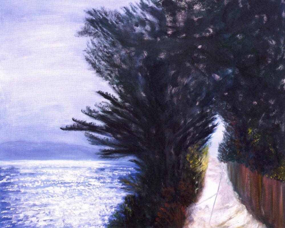 Le Début de la Journée   Oil on canvas, 30'' x 36'', 2003