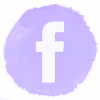 Lilac watercolor Facebook social media icons.png