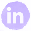 Lilac watercolor Linkedin social media icons.png