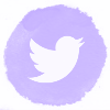 Lilac watercolor twitter social media icons.png