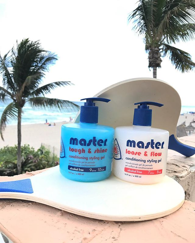 Sea life's beauty and make waves 🏖  Tough & Shine Conditioning Styling Gel Loose & Flow Conditioning Styling Gel ... #master1935 #mastergel #conditioning #stylinggel #hairstyling #trustedsince1935 #barber #barberchoice #barberlove #miami #beach #barbersupply #floridasgreatest