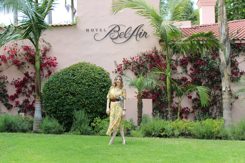 I am absolutely in love with this dress and it could not have been more perfect to go with my birthday brunch at the Hotel Bel-Air. It was super flowy, cute, and comfy which hit all of my checklists for a spring dress.