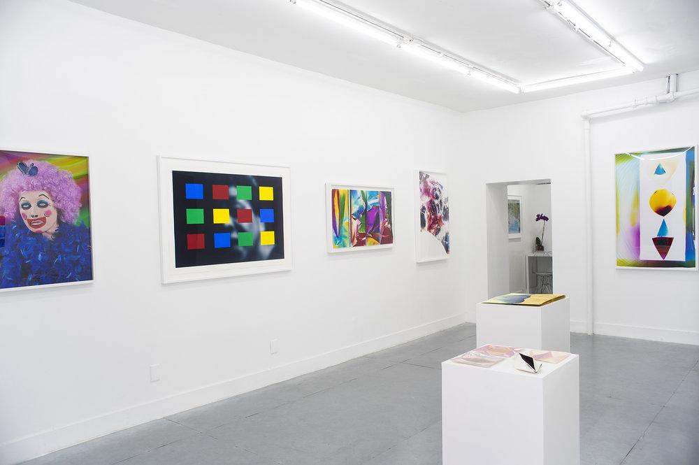 Women in Colour Installation, Cindy Sherman, Carrie Mae Weems, Ellen Carey, Mariah Robertson, Meghann Riepenhoff, Moira McDonald, Rubber Factory, Art Gallery