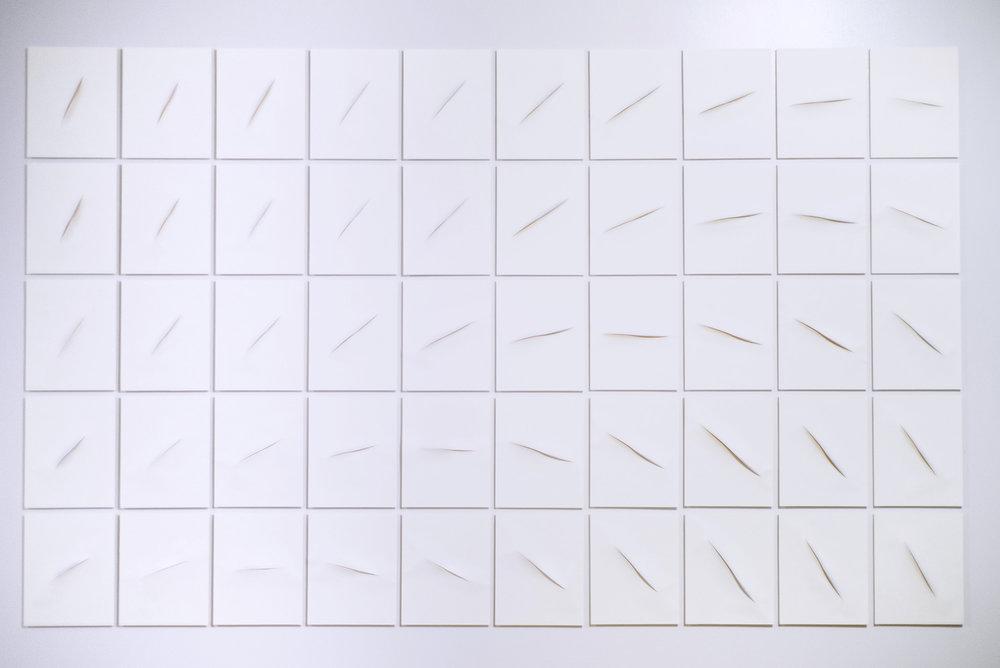 Alex Kwok, Light Inflections, 2017, Photo London, Rubber Factory
