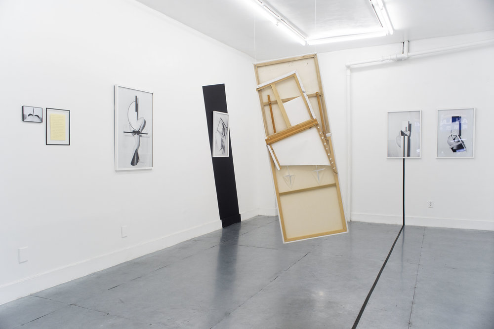Installation view from Patricia Voulgaris, Nothing Can Stop