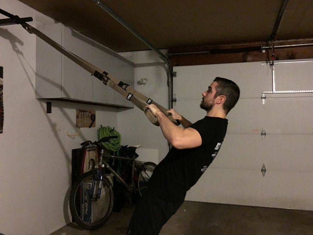 trx row mid-position