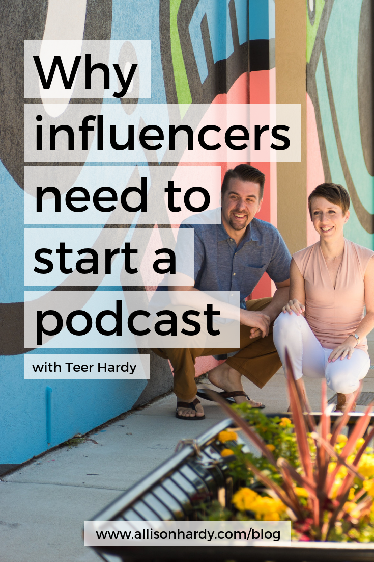 Why influencers need to start a podcast - Pinterest 1.png