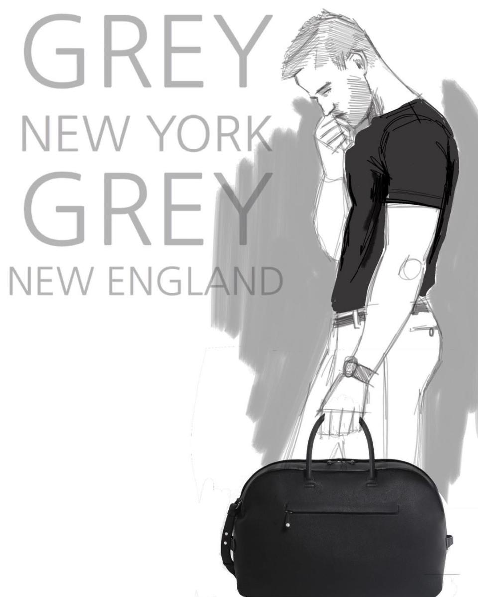 Grey New England - Duffle