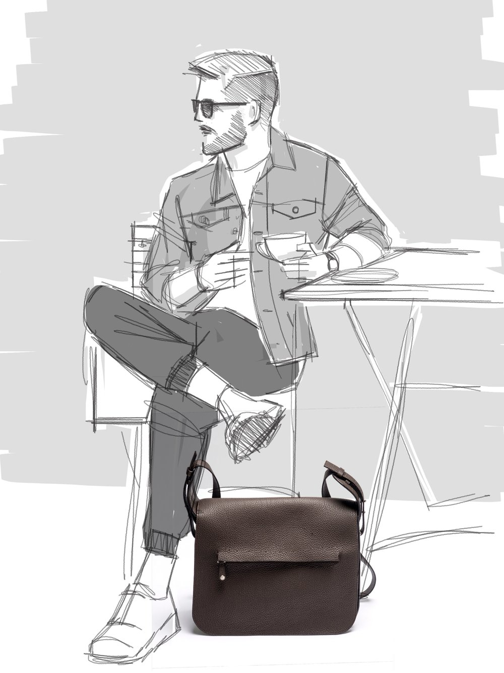 Grey New York Grey New England - Messenger Bag