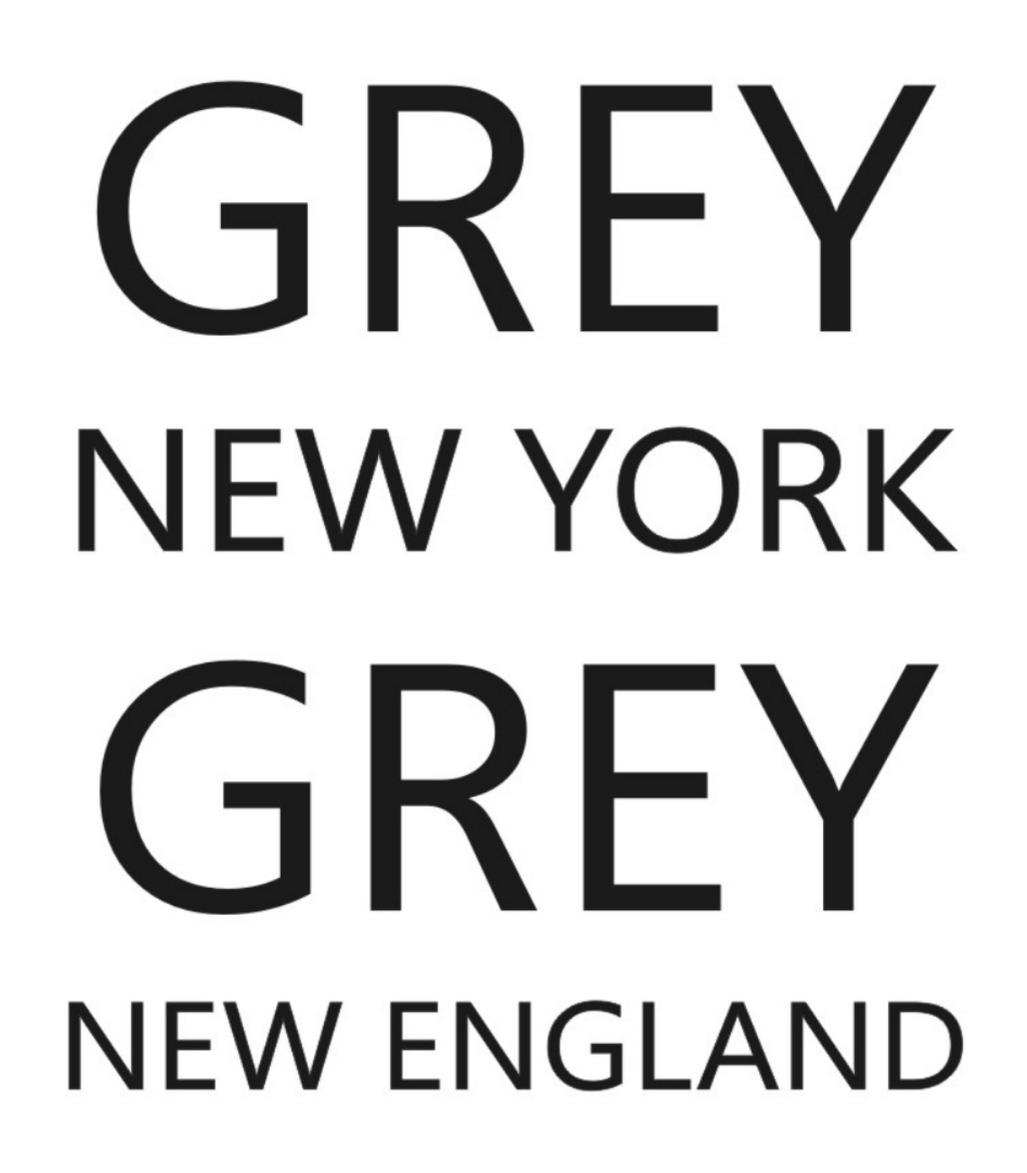 Grey New York Grey New England