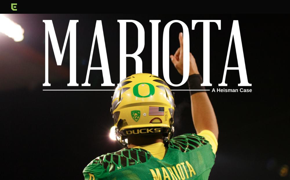 Marcus Mariota: A Heisman Case