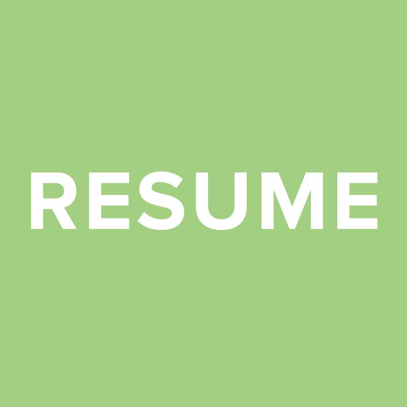 Resume (PDF)