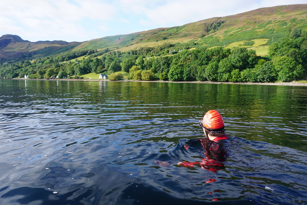 Floating In Loch Broom  | Photo:  Beth Harrison