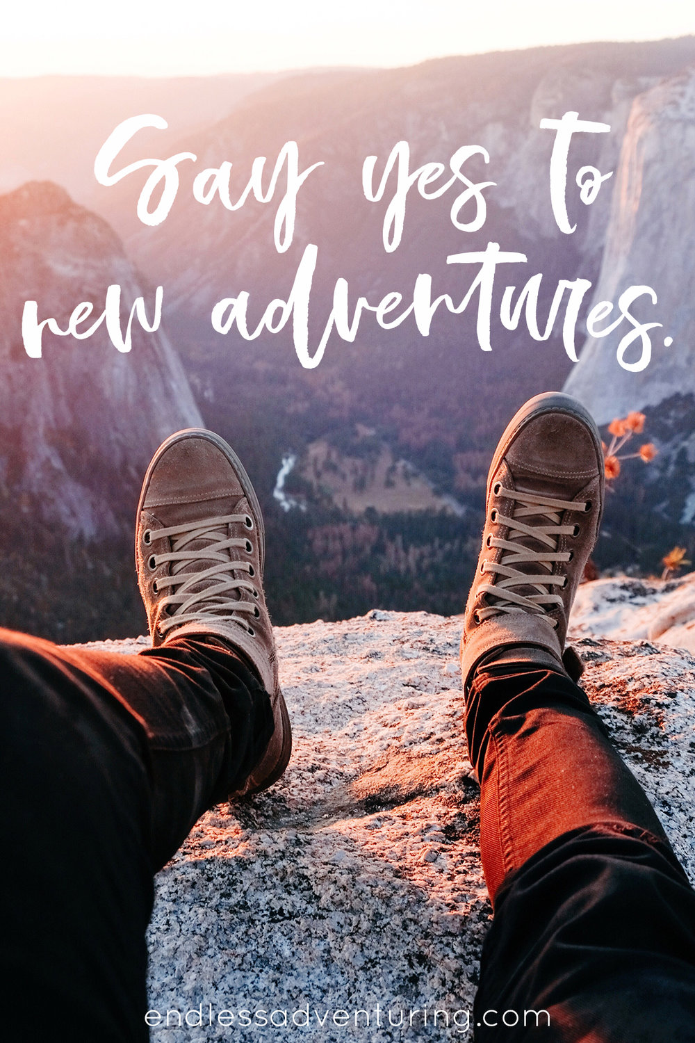 Adventure Quote - Say Yes To New Adventures