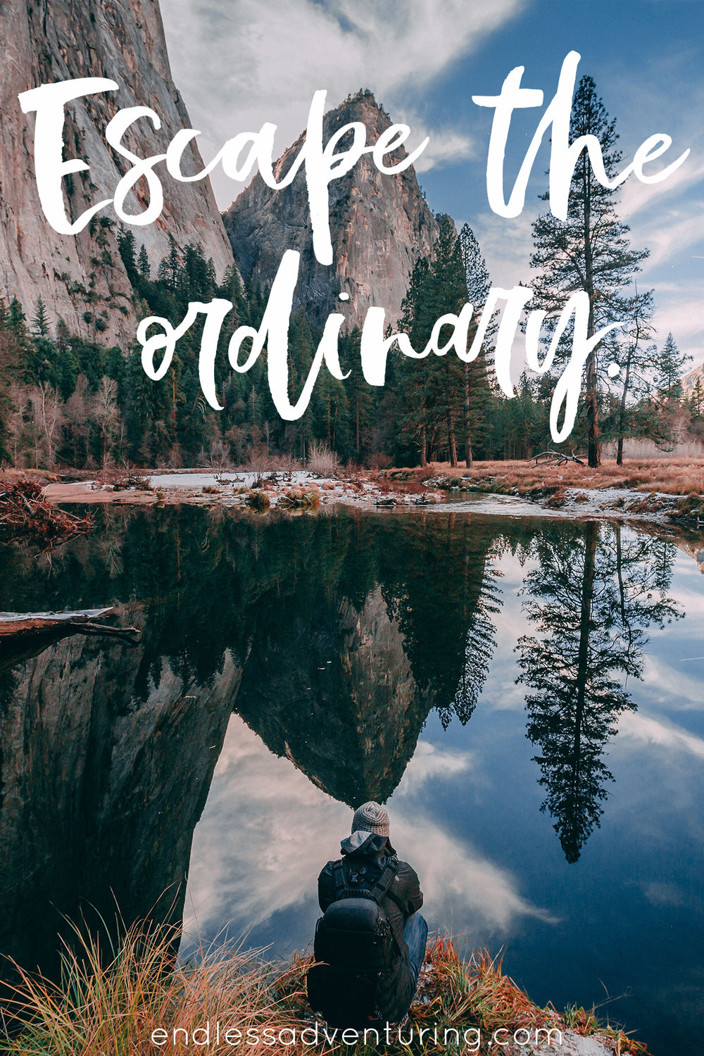 Adventure Quote - Escape The Ordinary