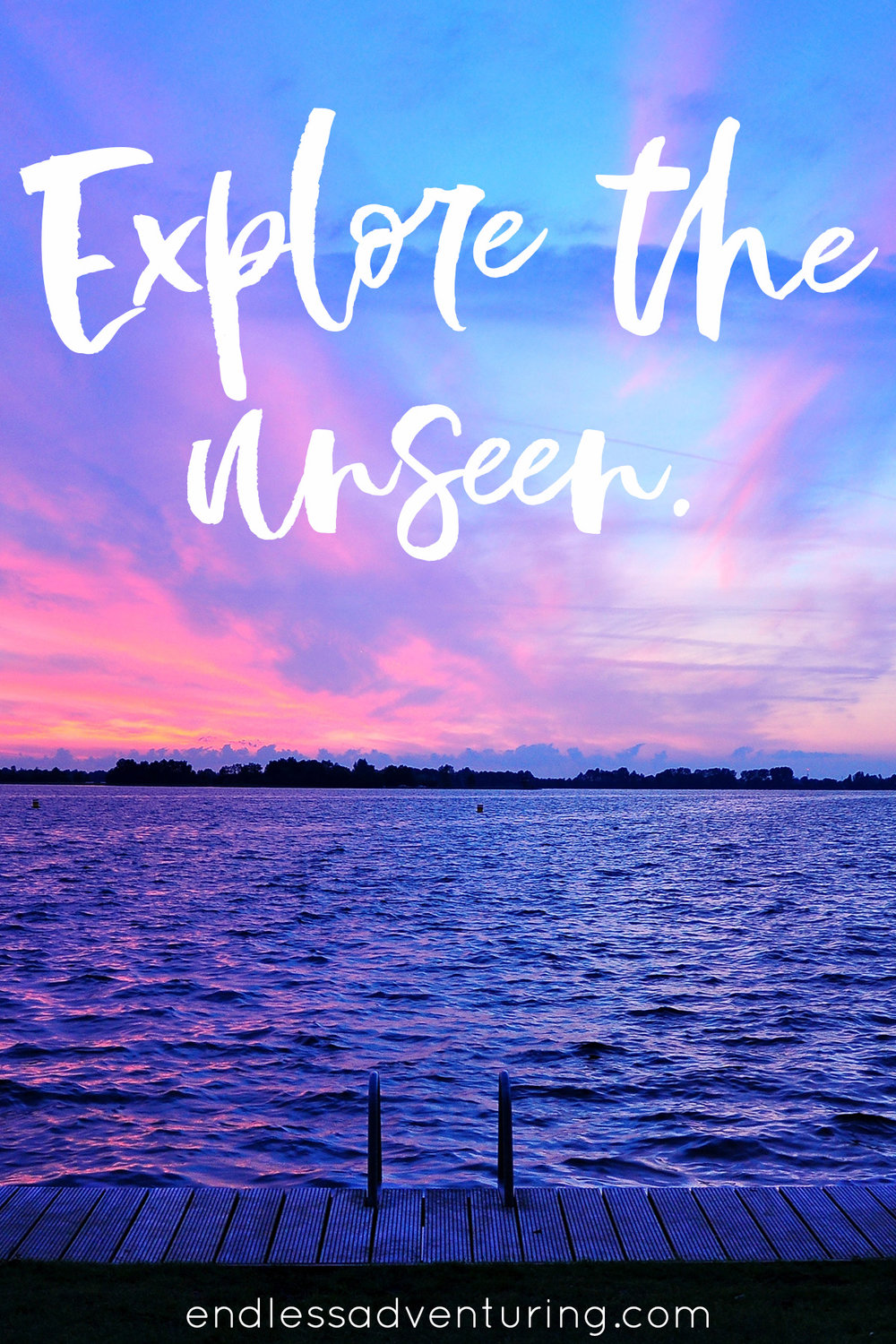 Adventure Quote - Explore The Unseen