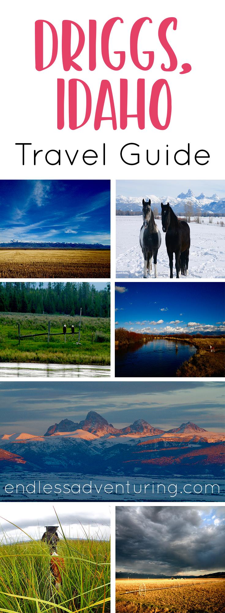 Driggs Idaho Travel Guide