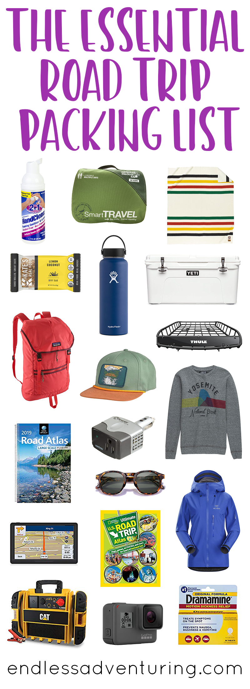 The Essential Road Trip Packing List