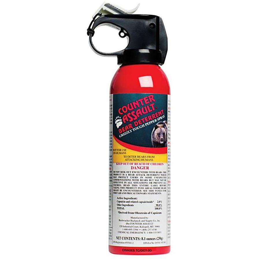 Counter Assault Bear Deterrent Spray with Belt Holster - 8.1oz.