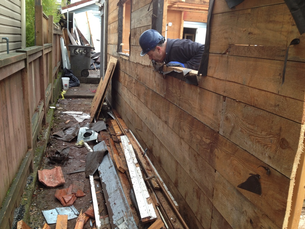 Salvaging Siding