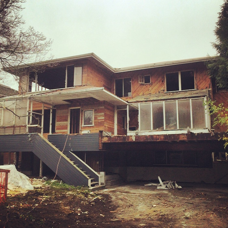 Kitsilano House Deconstruction