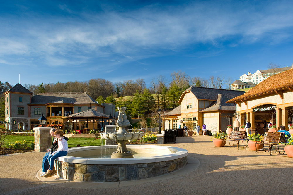 The Biltmore Estate's Antler Hill Village