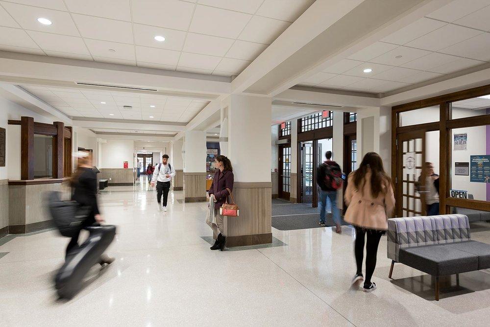 Restoring a Campus Landmark
