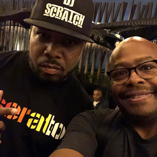 Connected again with the big bro @djscratch in the building. See him and other elite skill DJs by joining his Scratchvision channel. Shouts to @djaveenyc @russellpeters @toneguitars for the festivities and @officiallipgame for just being so cool. #music #musica #hiphop #hiphopmusic #dj #djlife #brooklyn #nyc #ny #newyork #newyorker #skill #elite #international #icon #instagood #djs #musicproducer #musicproduction #scratchvision #community