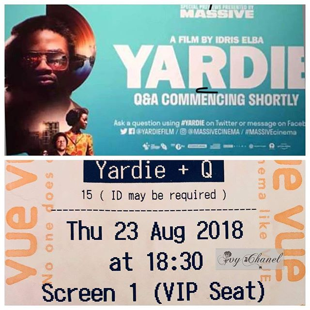 Shoutout to my fellow #dj #actor #director friend @idriselba in his directorial debut for his #movie Yardie. He had an #event in #london yesterday. Check it out in your neck of the woods soon.