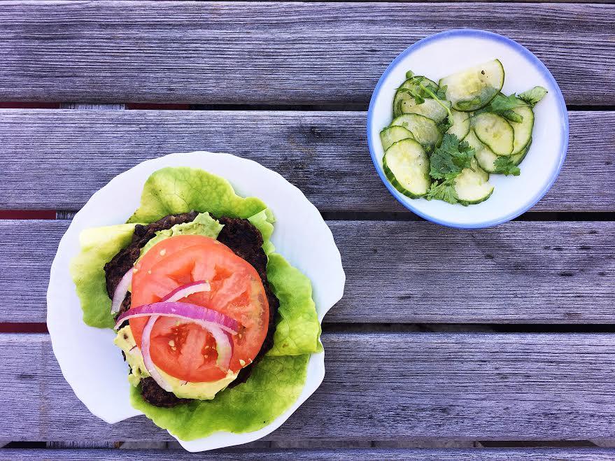 fiveminutesveggieburger