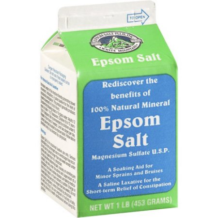 fiveminutesepsom salt
