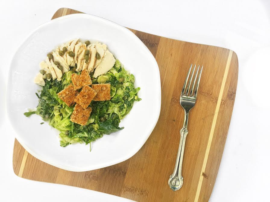 fiveminutesvegancaesar salad