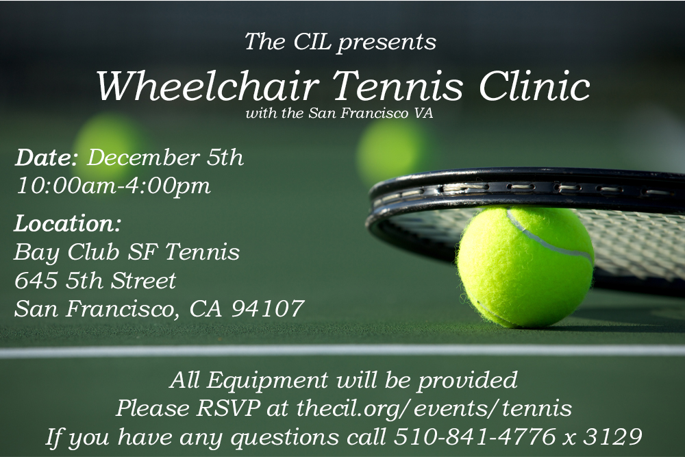 flyer for tennis