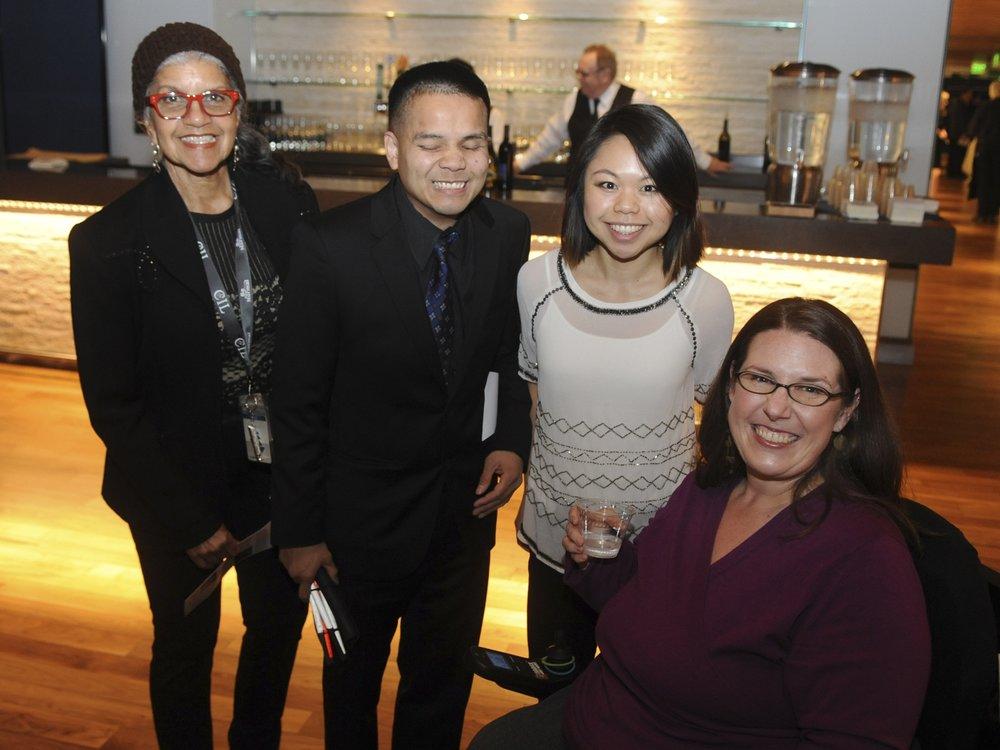 Grace Wright, Son Kim, Huong Nguyen, and Heidi Cash