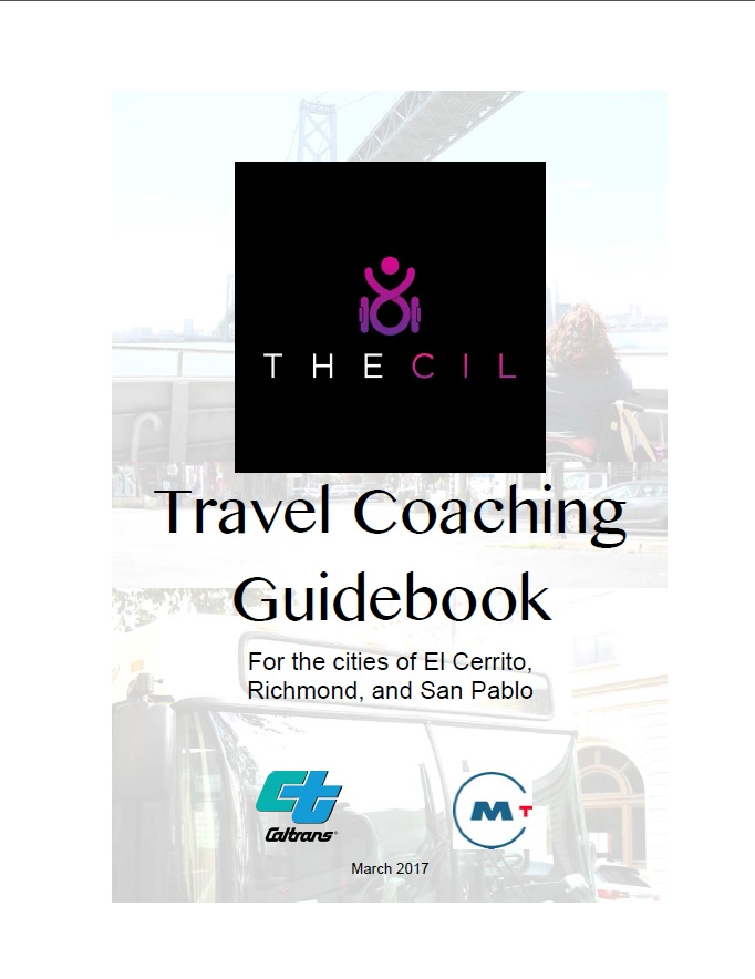 Photo of TheCIL Travel Coaching Guidebook. Please click on the image above to start download.