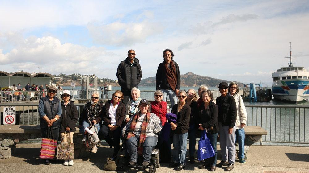 Sausalito Group Travel Training Photo