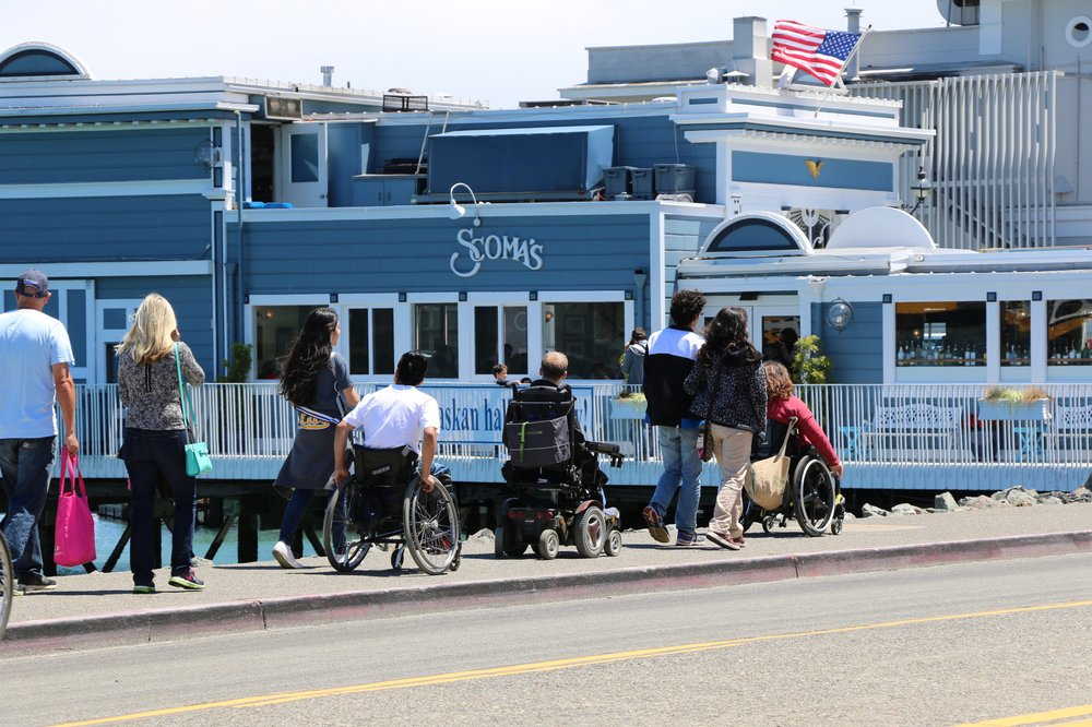 The CIL's CoCo Team leads a Group Training trip to Sausalito