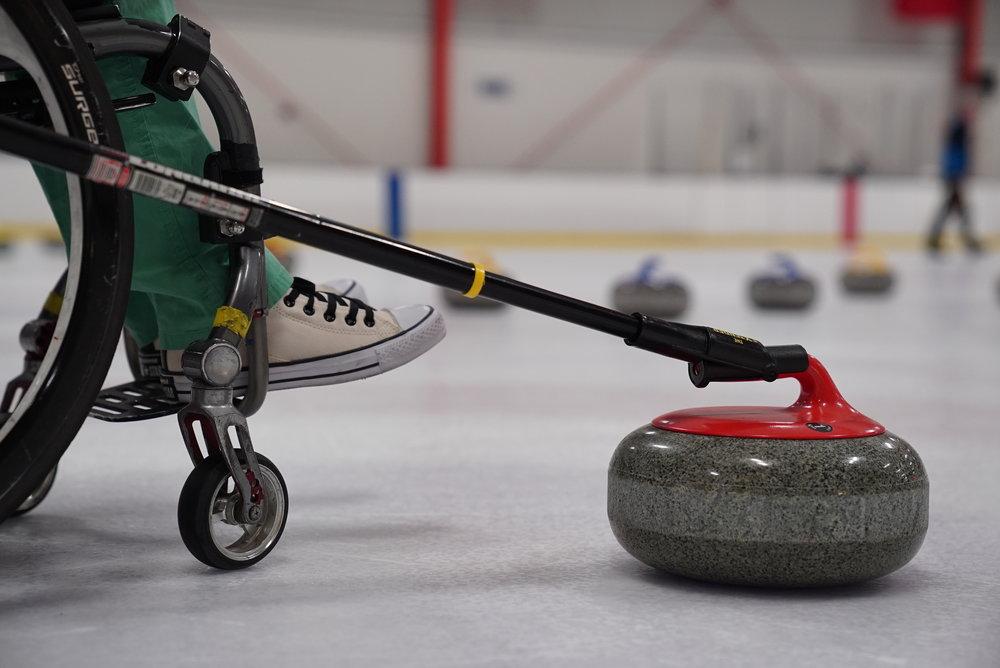 Adaptive Curling