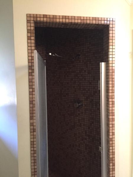 BRIGHT CHEERY BATHROOM REMODEL Renee Yee Interiors San Antonio - 70s bathroom makeover