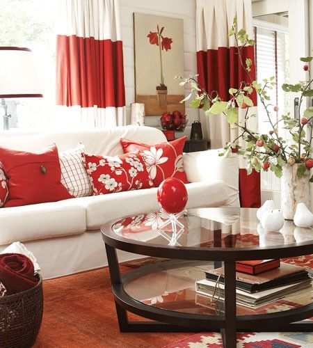 5 Beautiful Accent Wall Ideas To Spruce Up Your Home: Spice Up Your Home With Red — Renee Yee Interiors