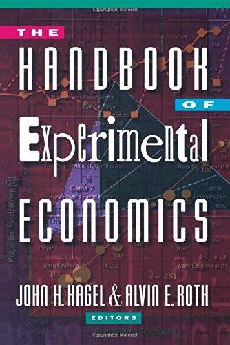 Handbook fo Experimental Economics