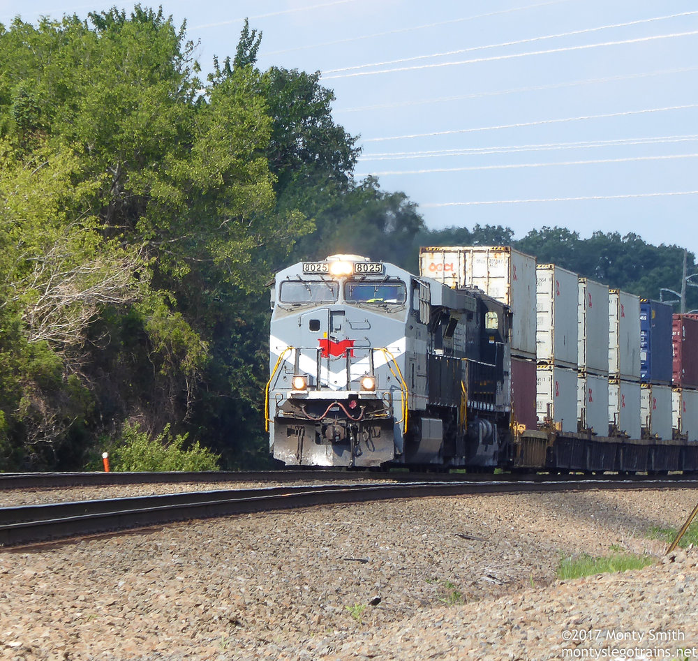 228 rolls south after passing through Manassas, VA