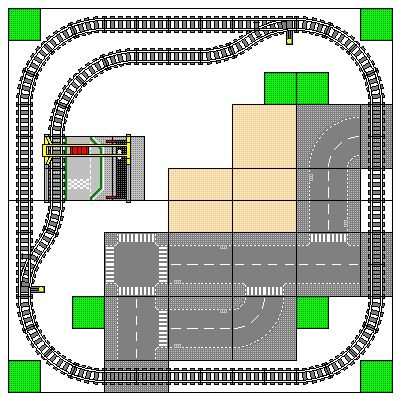 Two Table Layouts - Square 1