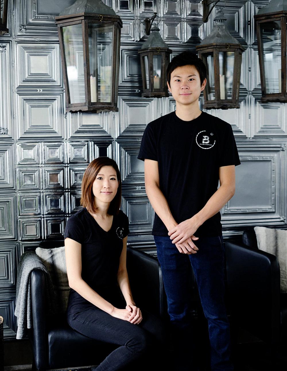 Ayaka & Masaki, Co-Founders of Be-Shock San Diego